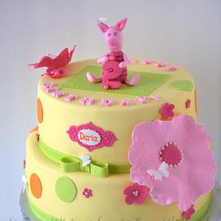 Winnie the Pooh - Piglet Cake
