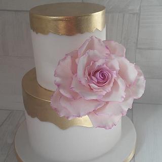 Malý svatební dort