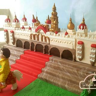 The Mysore Royal Palace Cake