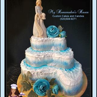 Mommy & Me Winter Tea Party Cake