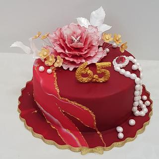 Anniversary celebration  - Cake by Svetlana Hristova