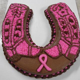 Breast Cancer CakeA