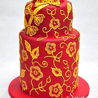 Cheongsam Cake - Cake by Sweet Success