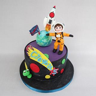 The little cosmonaut - Cake by Diana