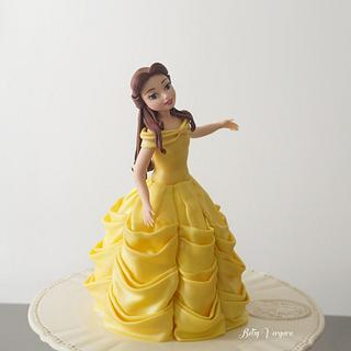 Belle caketopper - Cake by Betsy Vergara Pitot