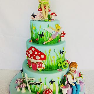 Tinkerbell Cake - Cake by Noreen@ Box Hill Bespoke Cakes