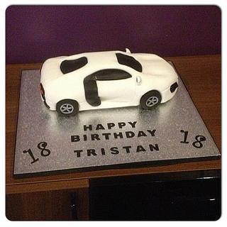 Audi R8 Cake