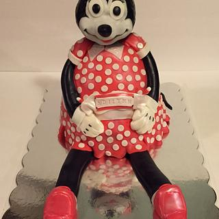 3D Minnie Mouse Cake - Cake by Danielle Crawford