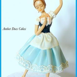Ballerina - Cake by AmberDoesCakes