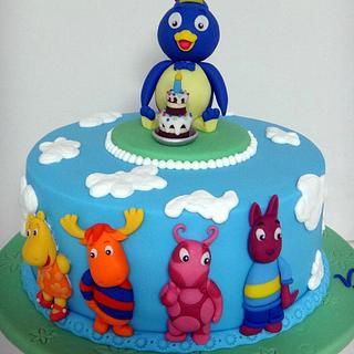 Backyardigan´s Cake