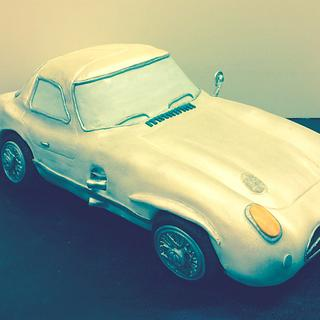 Mercedes 300SL 1955 - 3D Cake  - Cake by Sweet Factory