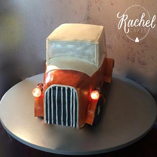 Classic Car Cake - 1930 Model 'A' Ford - Cake by Rachel~Cakes