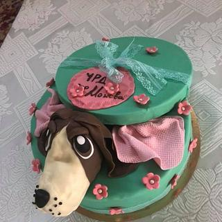 Cake dog - Cake by MontiCakes&Catering