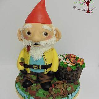 Garden Gnome - Cake by Blossom Dream Cakes - Angela Morris