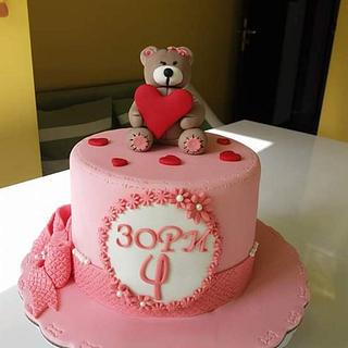 bear & hearts
