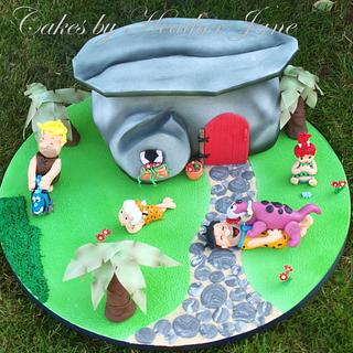 GOLD AWARD ~ Yabba Dabba Dooooooooo Flintstones Cake