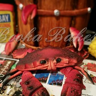 Crabs Gone Wild!! - Cake by Shanita