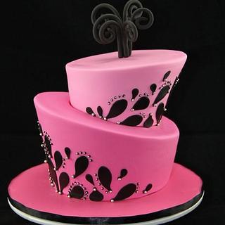 Hot Pink Topsy Turvy