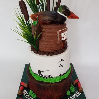 Hunter cake - Cake by Ladybug0805