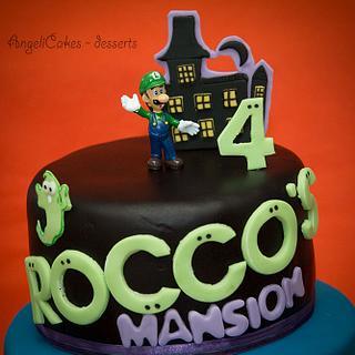 Luigi´s Mansion  - Cake by Angelica Galindo