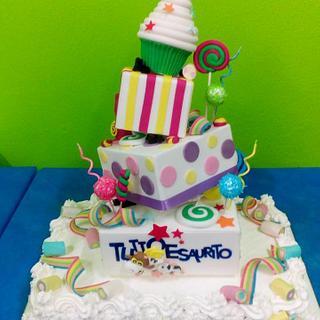 INAUGUAZIONE SALA ..TUTTOESAURITO - Cake by FRANCESCA
