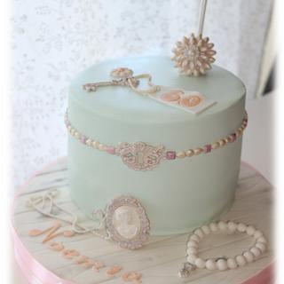 Vintage Box of jewellery - Cake by EliDoces - Elisabete Janeiro