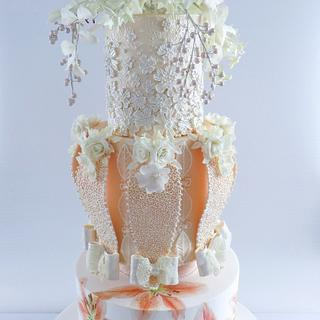Fashion Wedding Cake Collaboration