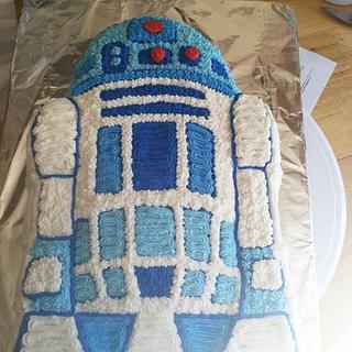 R2D2 - Cake by Bridget