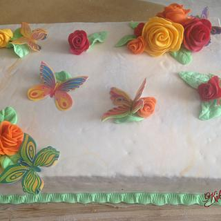 Spring cake - Cake by KaetvanKirsch