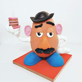 Standing Mr. Potato Head