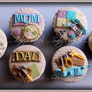 Cupcakes for Mum & Dad