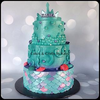 Mermaid Cake  - Cake by Cakes & Crafts by Kass