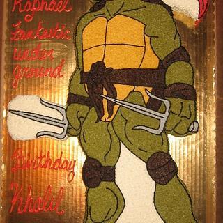 Ninja turtle Raphael