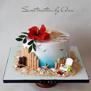 Summer cake - Cake by Ania - Sweet creations by Ania