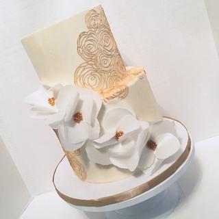 I Do - Cake by Treats by Tisha
