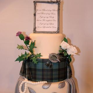 Outlander Cake Art Collaboration