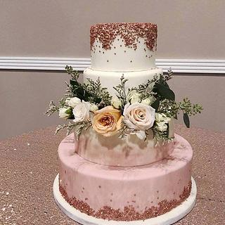 Country wedding - Cake by Cakes For Fun