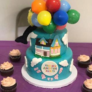 "Baby shower ""Up"" movie theme"