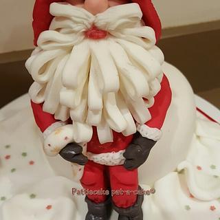 Father Christmas Santa Claus - Cake by Pattiecake