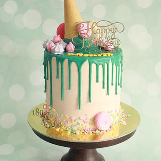 Drip Cake - Cake by Joonie Tan