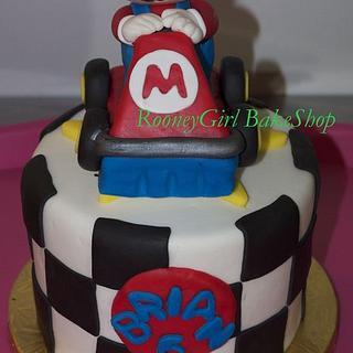Super MarioKart Birthday Cake 2