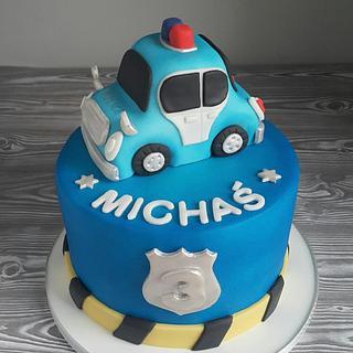 Terrific Police Birthday Cake 5 Cakes Cakesdecor Funny Birthday Cards Online Necthendildamsfinfo