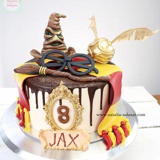 Harry Potter cake| Natalia Salazar
