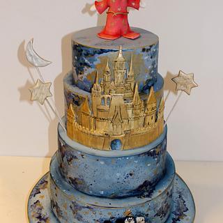 Disney Castle Cake - Cake by Diana Toma