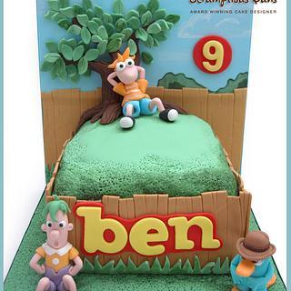 Cake Scene : Phineas & Ferb