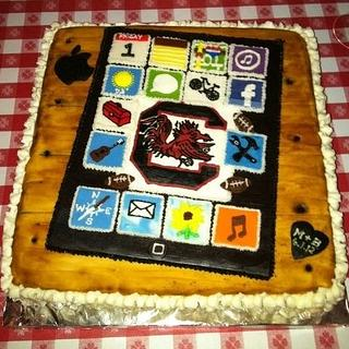 Groom's Cake with iPad Theme