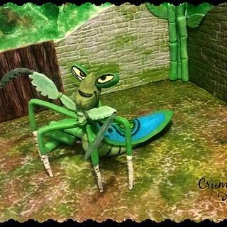 Master Mantis  ( kung fu panda 3 collaboration)