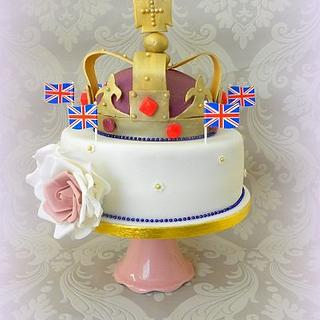 Queen's Diamond Jubilee Cake