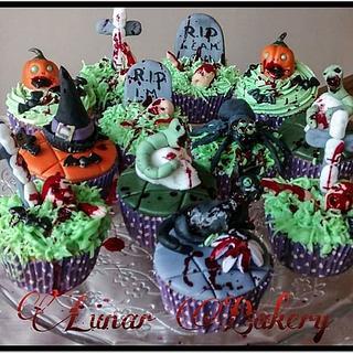 Luguber cupcakes