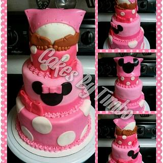 Minnie Mouse Baby Rump Cake! - Cake by Timbo Sullivan